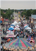 Aerial view of the 2011 Fall Festival
