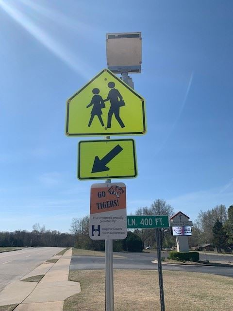 LED Cross Walk Signs (3)