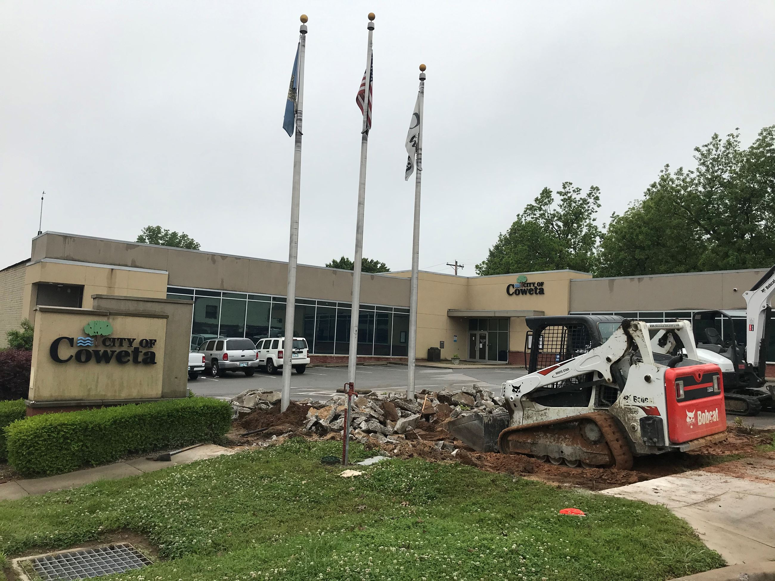 Veterans Plaza Demolition