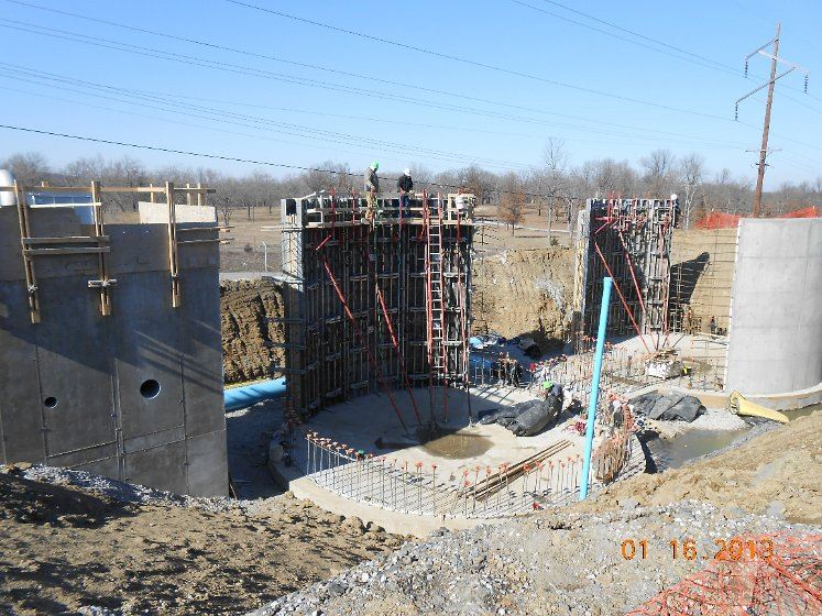 January 2013 - Coweta Water Plant Construction - 7