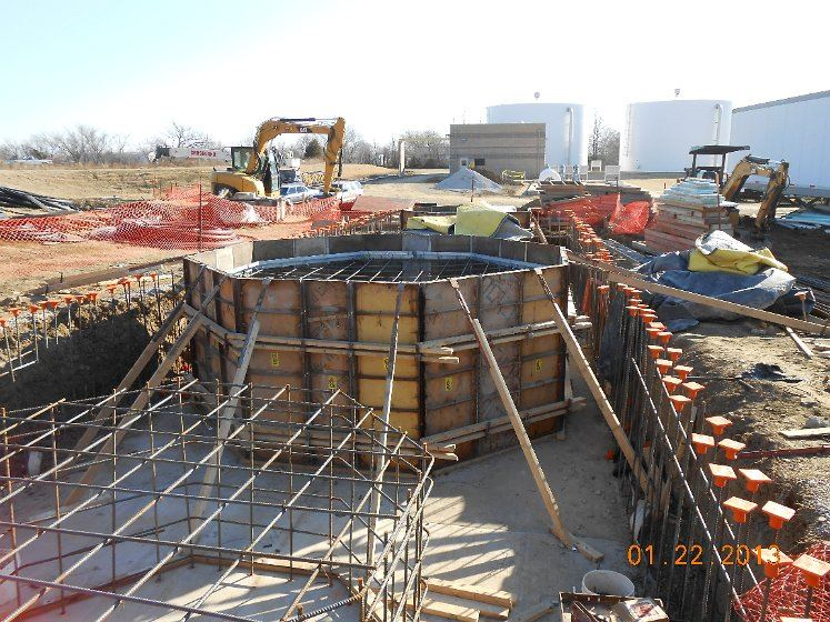 February 2013 - Coweta Water Plant Construction - 1