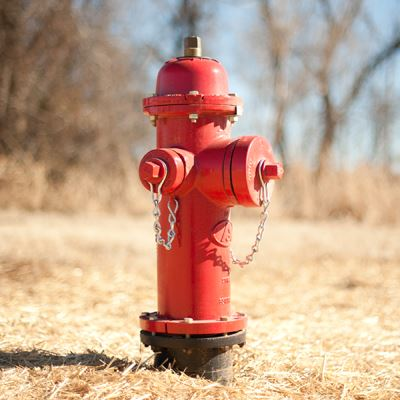 Red Water Hydrant