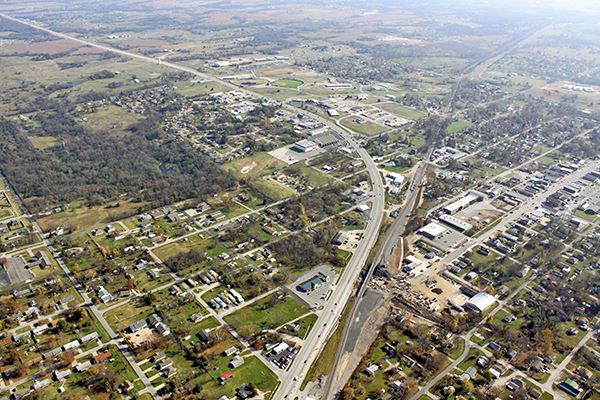 Aerial Photo of Coweta